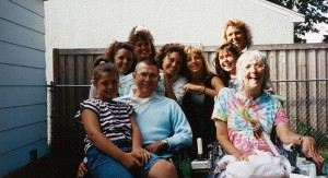 Leah and Wayne with Daughters and Granddaughters